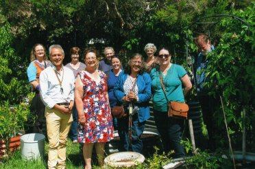 Garden - staff and EMC 2